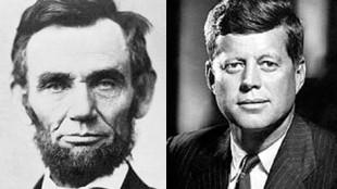 Abraham Lincoln und JF Kennedy