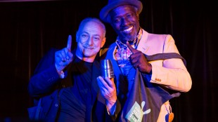 Die Gewinner: Tony Marvel und Daniel Burley